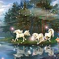 Unicorn Wizard Pool by MGL Meiklejohn Graphics Licensing