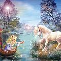 Unicorns Lake by Zorina Baldescu