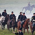 Union Cavalry On The March - Perryville Ky by Thia Stover