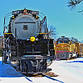 Union Pacific Challenger by Sylvia Thornton