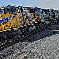 Union Pacific Southbound by Jim Thompson