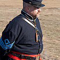 Union Soldier At Brooksville Raid by John Black