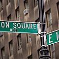 Union Square West I by Susan Candelario