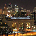 Union Station At Night by Lynn Sprowl