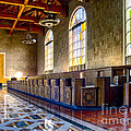 Union Station Interior- Los Angeles 2 by David Doucot