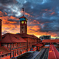 Union Station Portland Oregon by Wolfgang Hauerken