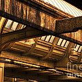 Union Station Roof Beams by Thomas Woolworth