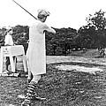 Union Suit Golfer by Underwood Archives