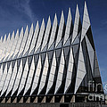 United States Air Force Academy Cadet Chapel by Vivian Christopher