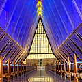 United States Airforce Academy Chapel Interior by Bob Christopher