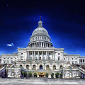 United States Capitol Building by Mountain Dreams