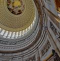 Unites States Capitol Rotunda by Susan Candelario