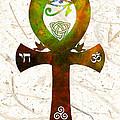 Unity 11 - Spiritual Artwork by Sharon Cummings