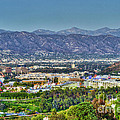 Universal City Warner Bros. Studios Clear Clear Day by David Zanzinger