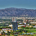 Universal City Warner Bros Studios Clear Day by David Zanzinger