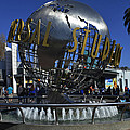 Universal Studios Globe by Tommy Anderson