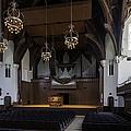 University Auditorium And The Anderson Memorial Organ by Lynn Palmer