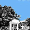 University North Carolina Chapel Hill - Light Blue by DB Artist