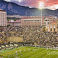 University Of Colorado Boulder Go Buffs by James BO Insogna