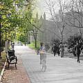 University Of Pennsylvania Walk by Eric Nagy