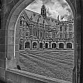 University Of Sydney-black And White V3 by Douglas Barnard