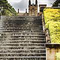 University Of Sydney Steps by Douglas Barnard