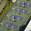 University Of Washington Tennis Courts by Andrew Buchanan/SLP