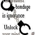 Unlock Your Mind by Pharris Art