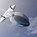 Unmanned Spaceship by Michael Wimer