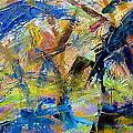 Untitled Abstract #2 by Greg Mason Burns