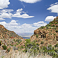 Up From Jerome Arizona by Maria Janicki