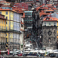 Up The Hill In Porto by John Rizzuto