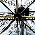 Up The Rigging by Ron  Tackett