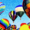Up Up And Away by Michael Pickett