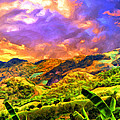 Upcountry Maui Sunset by Dominic Piperata
