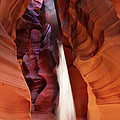 Upper Antelope Canyon Sunbeam by Robert Jensen