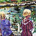Upper Duck Pond by Faye Cummings