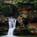 Upper Falls At Hocking Hills State Park by Jetson Nguyen