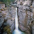 1m3340-upper Falls, Johnston Canyon by Ed  Cooper Photography
