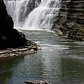 Upper Falls Letchworth State Park by Christiane Schulze Art And Photography
