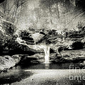 Upper Falls Old Mans Cave In Infrared by Robert Gardner