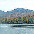 Upper Lake Toxaway In The Fall 2 by Duane McCullough