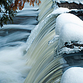 Upper Most Part Of Bond Falls by Optical Playground By MP Ray