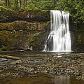Upper North Silver Falls 1 by John Brueske