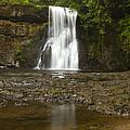 Upper North Silver Falls 2 by John Brueske