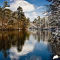 Upper Pond by Dennis Coates
