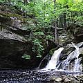 Upper Purgatory Falls - Wide by Aaron Edrington