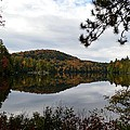 Upper Saranac Bay In Fall by Thomas Phillips