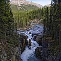 Upper Sunwapta Falls - Canadian Rockies by Daniel Hagerman