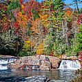 Upper Twin Falls by Lynn Bauer